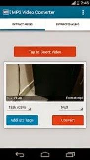 Cara Convert/Ubah Format Video Menjadi MP3 Di Android