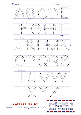 Number Names Worksheets : practice alphabet writing ~ Free ...