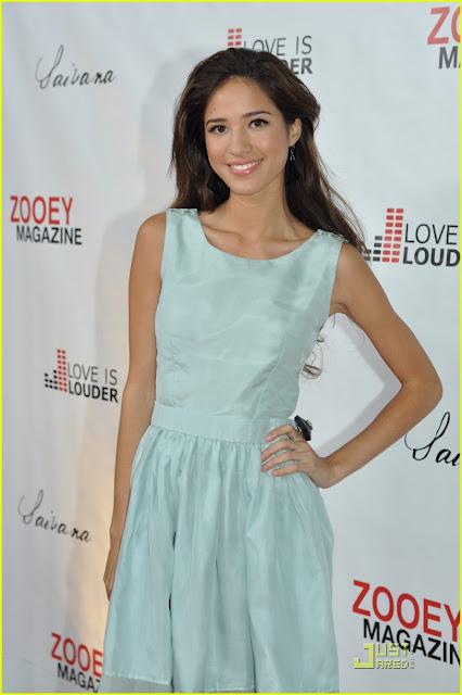 Kelsey Chow wearing Jenny Dayco earrings