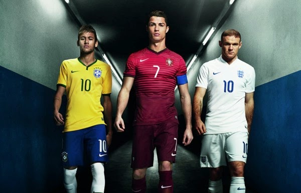 FootballOffThePitch: #Ronaldo, #Neymar and #Rooney in NIKE ...