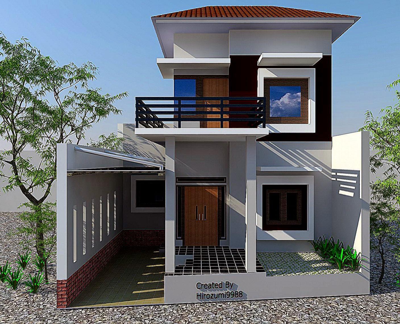 Gambar Depan Rumah Minimalis   Rumah Minimalis Indo