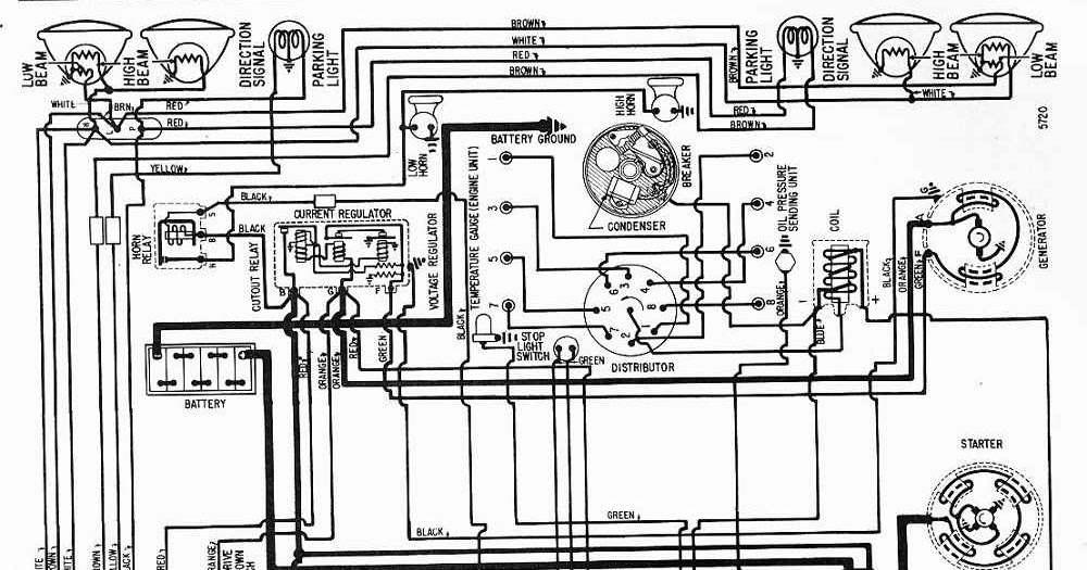 wiring diagram for car: Wiring Diagram of 1957 Nash Ambassador