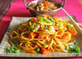 How to Make Chilli Garlic Noodles