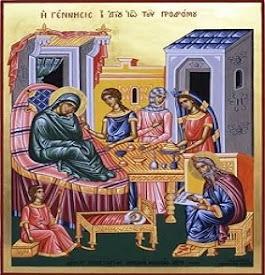24 Ιουνίου Η Γέννηση του Αγίου Ιωάννη του Προδρόμου και η ερμηνεία της εικόνας
