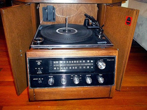 History S Dumpster 1970s Magnavox Drum Console Stereo