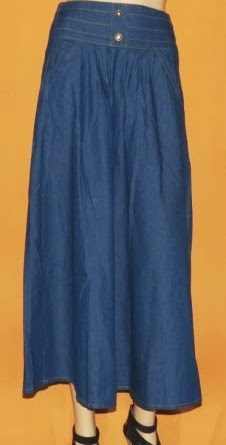 Rok  Jeans Muslimah