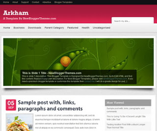 Arkham-Blogger-Template