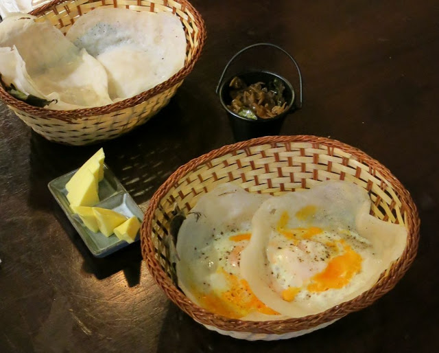 Pavlov's Duck, Fitzroy, Sri Lankan, hoppers, egg, sweet, savoury