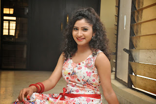 Actress Vishnu Priya Latest Pictures in Short Dress at Nenu Naa Friends Movie Press Meet  79.JPG