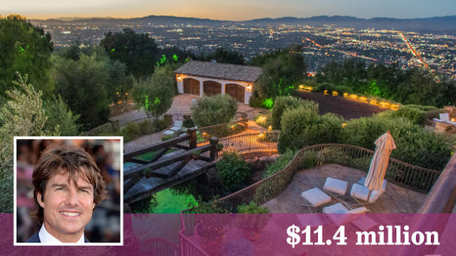 Action star Tom Cruise has sold a Hollywood Hills West compound for $11.4 million