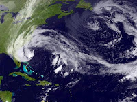 Sandy Sturm Hurrikan in New York am 29.10.2012 Hurricane