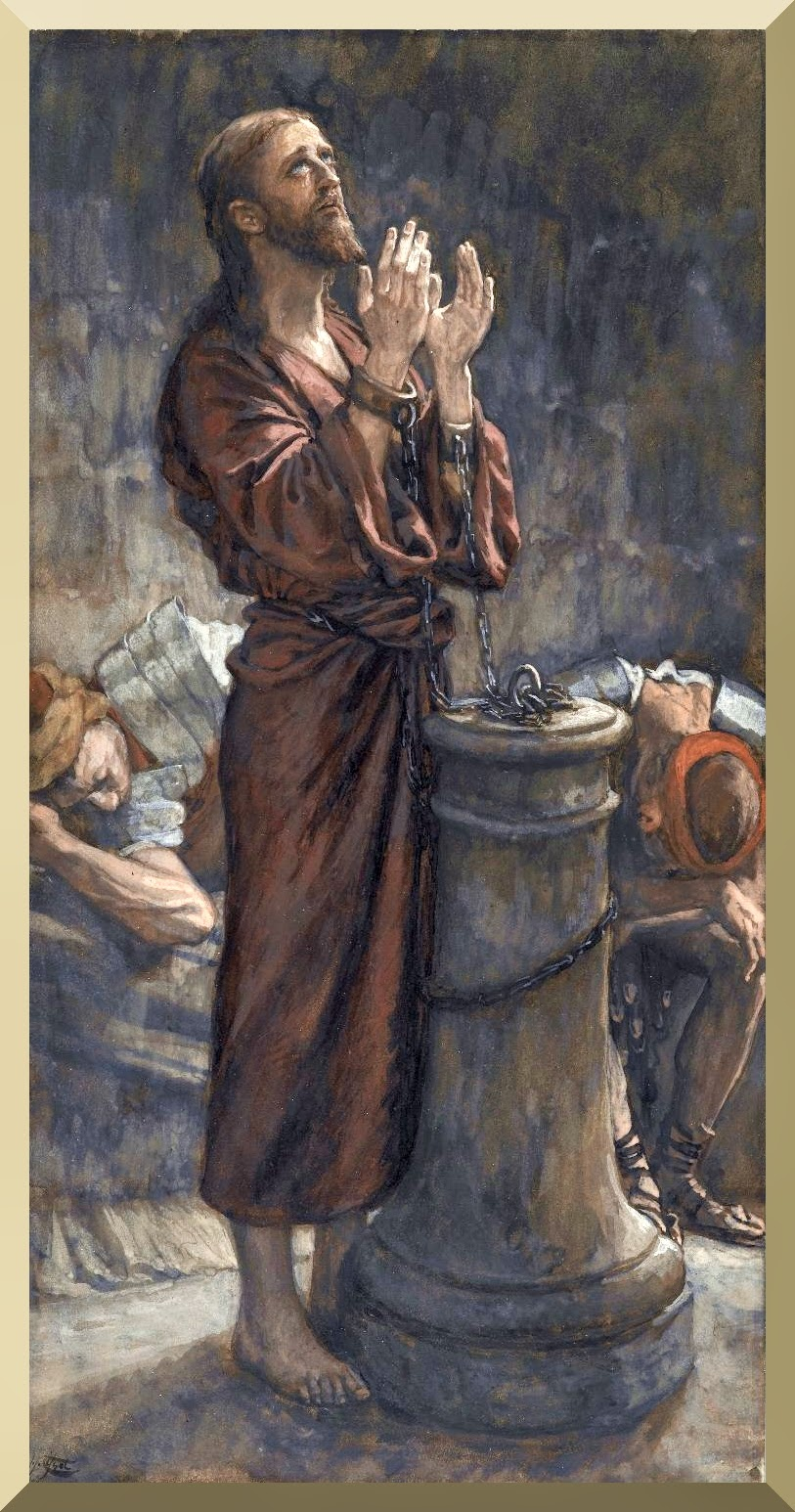 """Good Friday Morning: Jesus in Prison "" -- byJames Tissot.jpg"