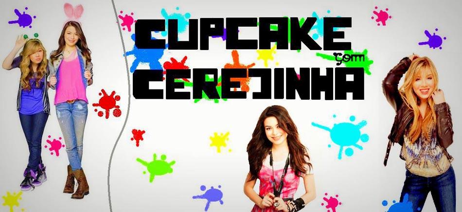 Cupcake com Cerejinha
