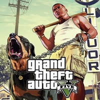 GTA 5 ( V ) PC Game Cover Logo by http://jembersantri.blogspot.com