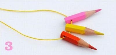 مجوهرات رائعة باستخدام القلم الرصاص-منتهى