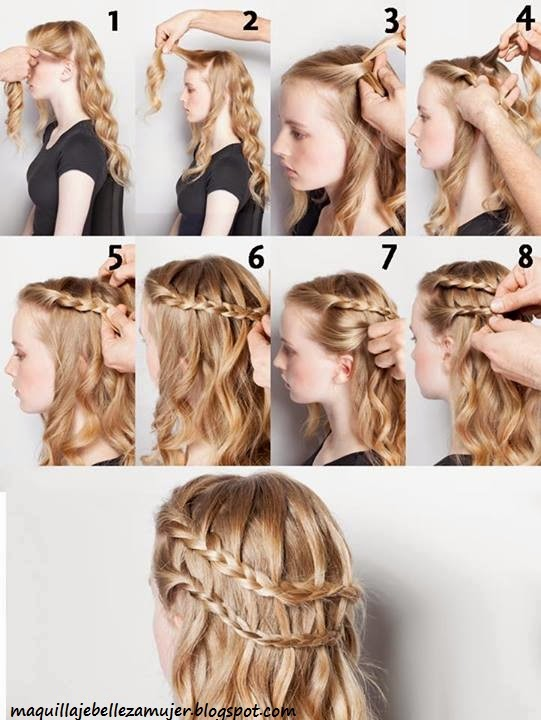 Peinados Con Trenzas Pelo Largo - peinados faciles bonitos y rapidos con trenzas para niña