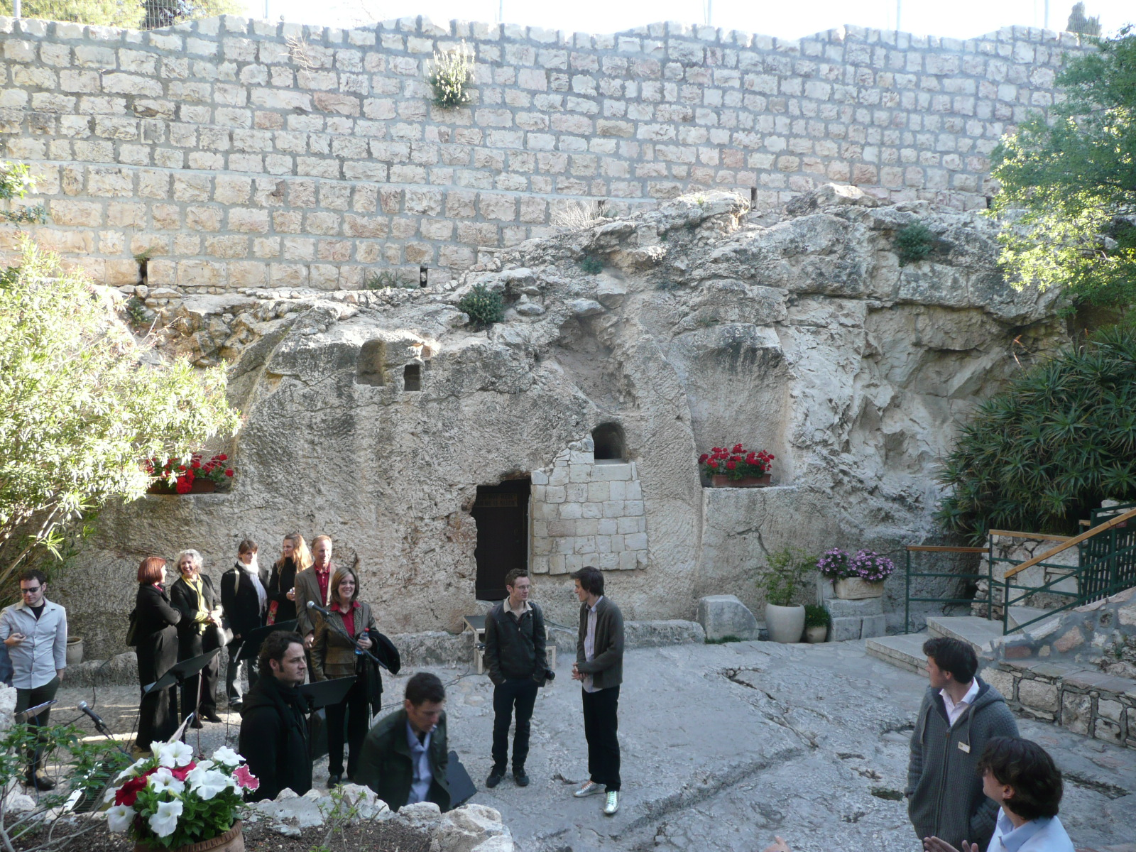 the garden of the empty tomb via dolorosa and our sunrise easter