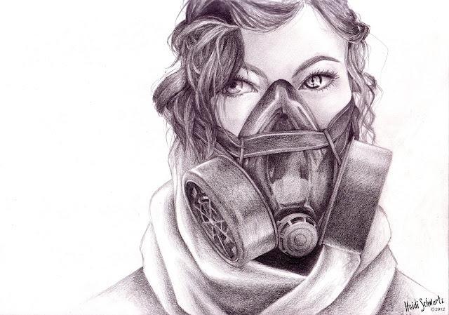 Heidi Schwartz: Another Sci-fi Eye Drawing