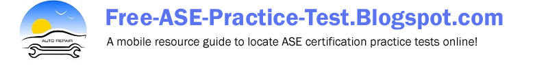 Free ASE Practice Test