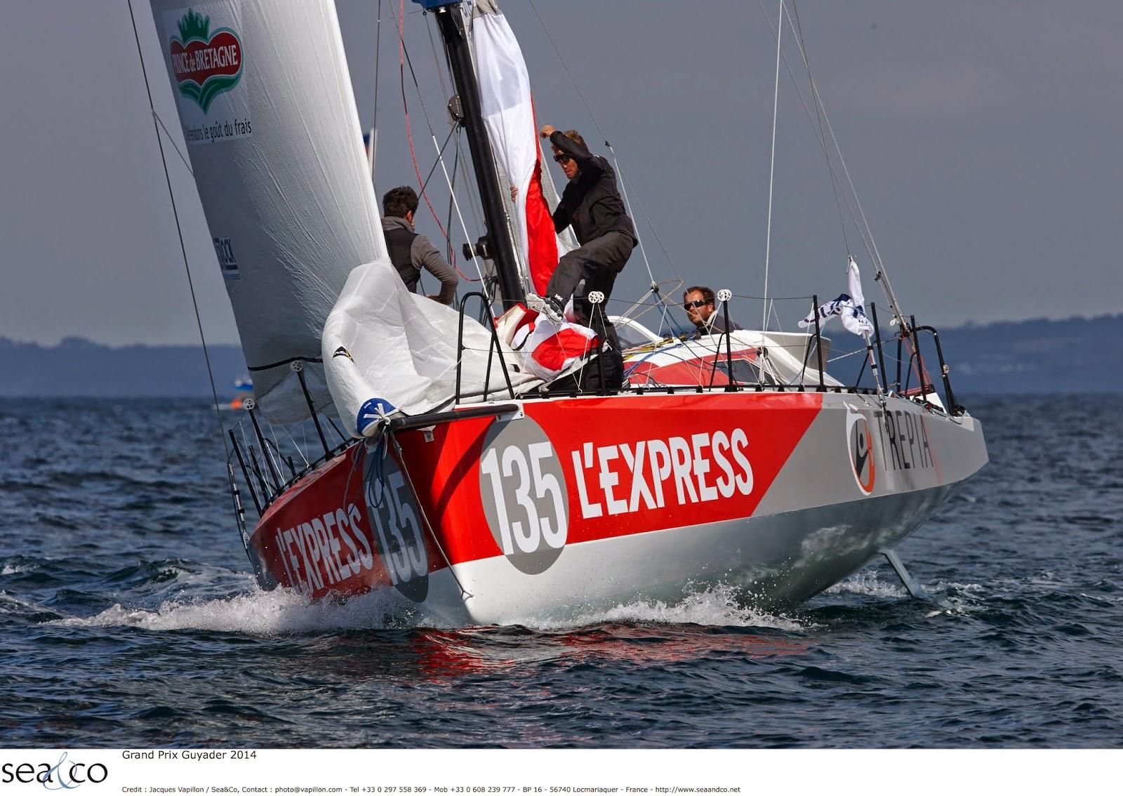 L'Express Trepia de Pierre-Yves Lautrou démâte !