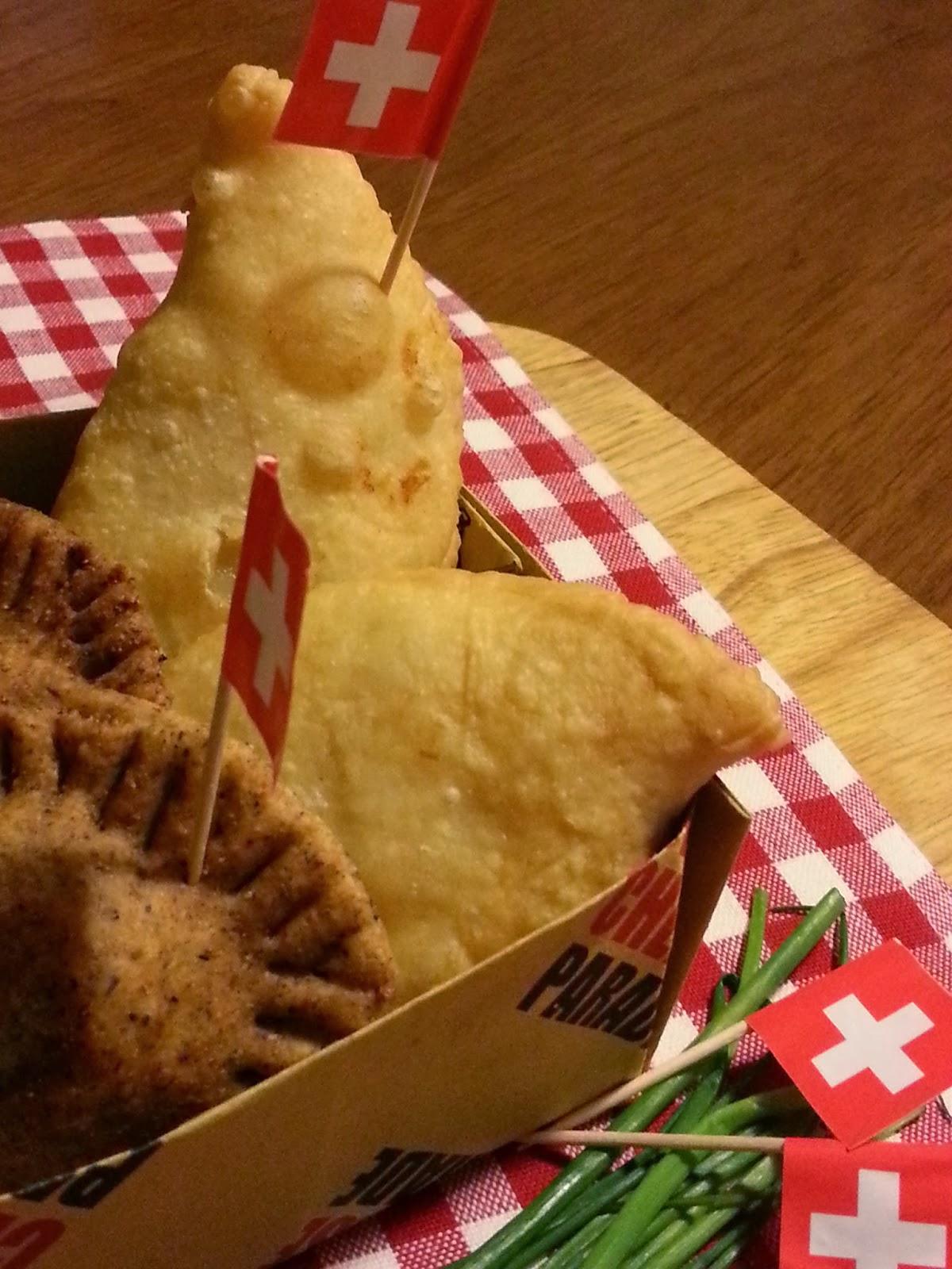 tirtlan e gnocco fritto ripieni di sbrinz e patate  - incontri