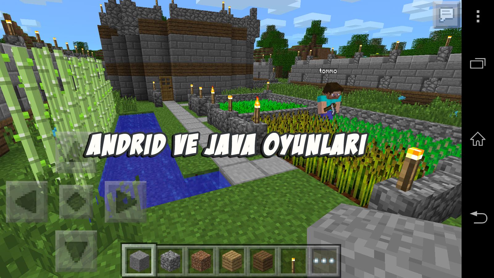 Minecraft Pocket Edition V  Full Apk Indir Android Ve Java