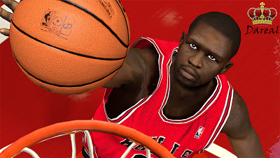 NBA 2K13 Luol Deng Cyberface Patch
