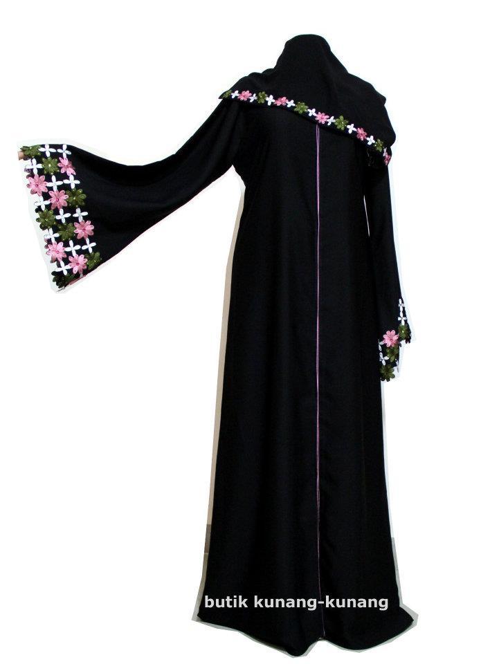 Butik Kunang-Kunang Abayat Qatar Abaya A031