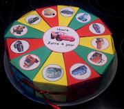 Toegestuurde foto: Cars traktatie taart