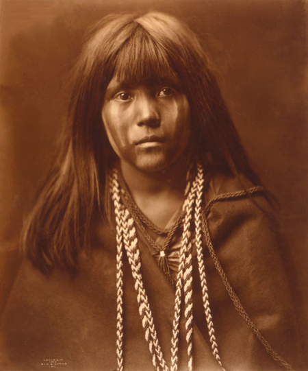 edward curtis mojave child mosa