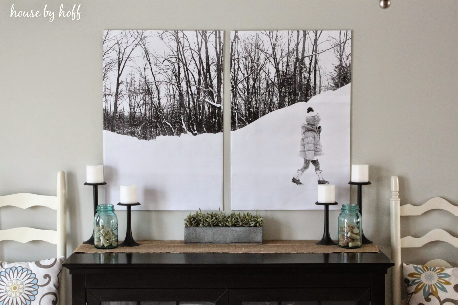 The lovely side big cheap wall art ideas for my living room for Cheap artwork ideas