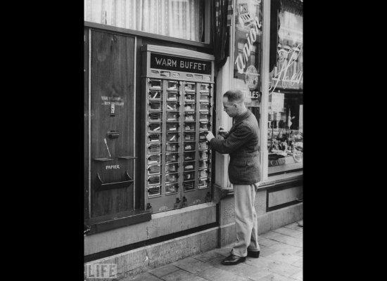 Sejarah Mesin Layan Diri Vending Machine