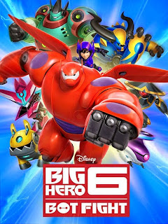 Screenshots of the Big hero 6: Bot fight for Android tablet, phone.