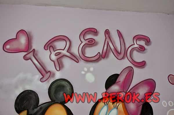 Graffiti con tu nombre Irene