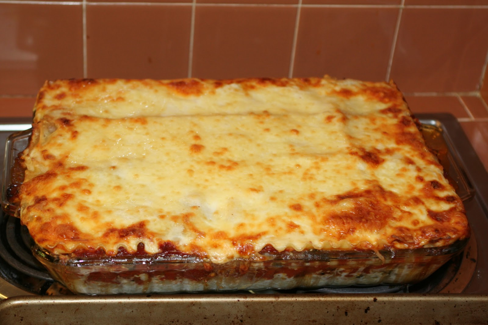 This Vegetarian Lasagna recipe was sent to me from, Olivia Hinebaugh ...