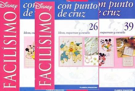 Revista Disney magic punto cruz - Imagui
