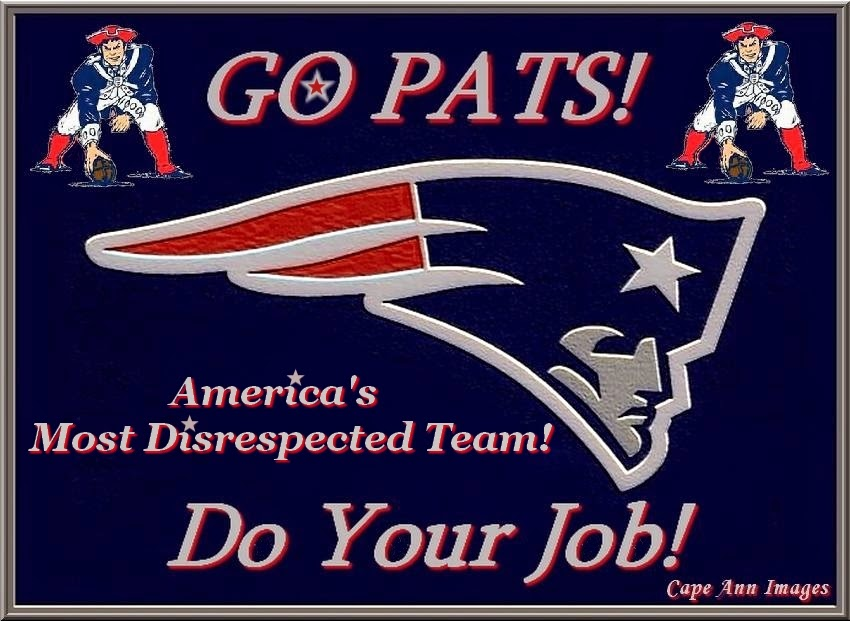 New England Patriots!