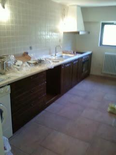 Fai da te hobby legno cucina in muratura - Cappa cucina in muratura ...