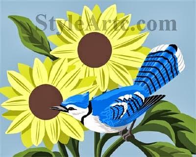 blue jay art