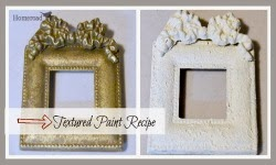 Textured Paint Recipe