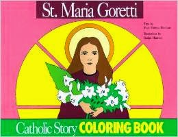 st maria goretti coloring pages this is a great book that is sold on amazon that you can purchase for future use here