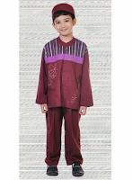 Contoh Foto Baju Muslim Anak Laki-laki