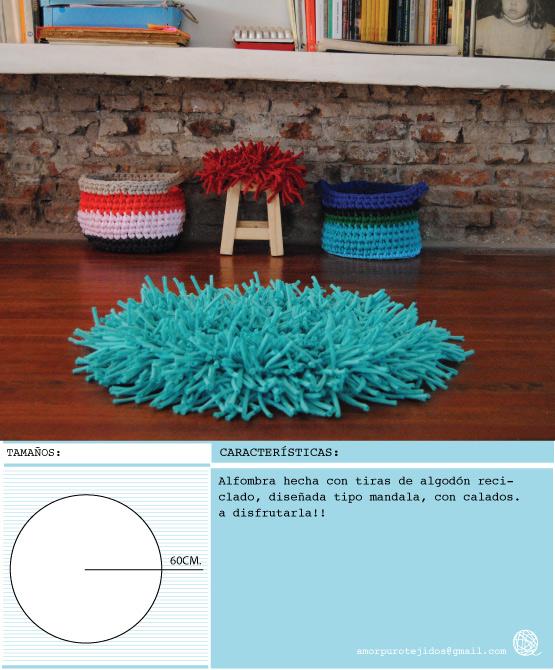Amor puro tejidos reciclados alfombra mantas for Tejidos de alfombras