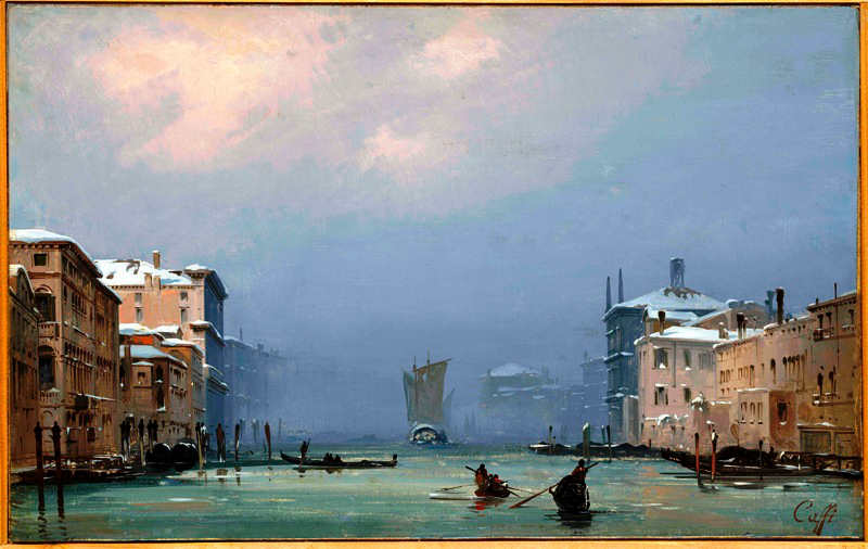 Ippolito Caffi at Museo Correr
