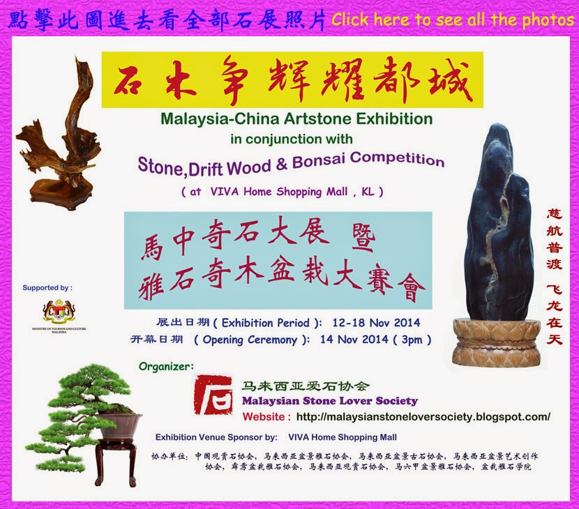 2014 Viva mall stone exhibition
