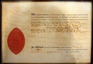 21/04/1918 - Carta de Consagração