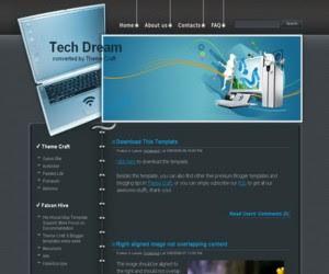 Tech Dream Blogger Template