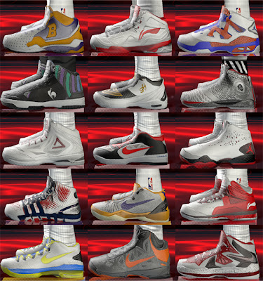 NBA 2K13 Shoes Patch Pack