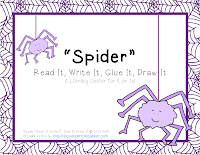 http://www.teacherspayteachers.com/Product/Spider-Read-It-Write-It-Glue-It-Draw-It-924811