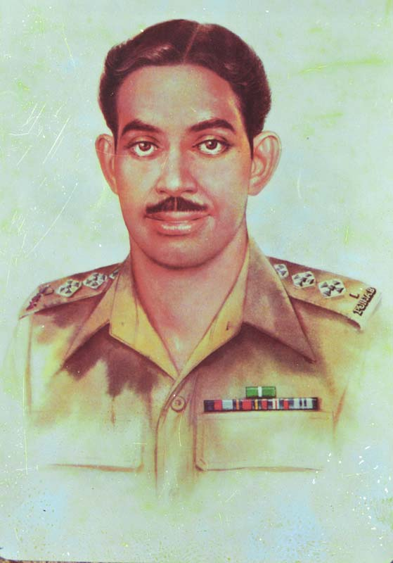 Capt. Raja Muhammad Sarwar Shaheed Nishan-e-Haider